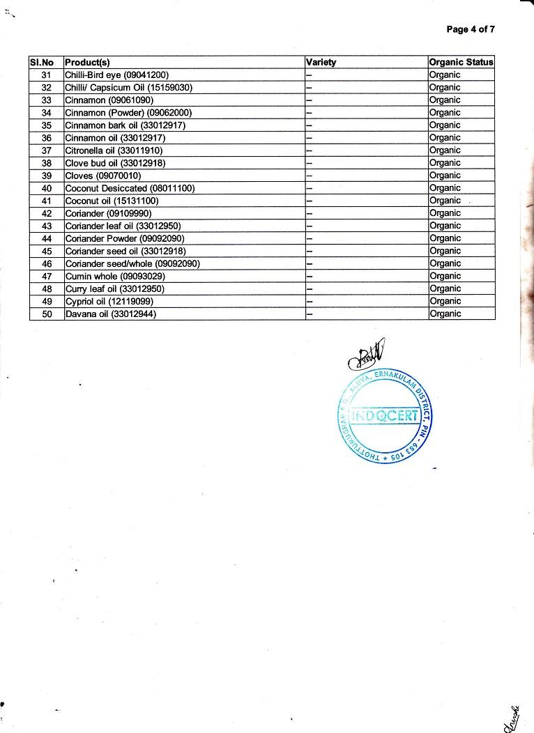 India Organic Page-4