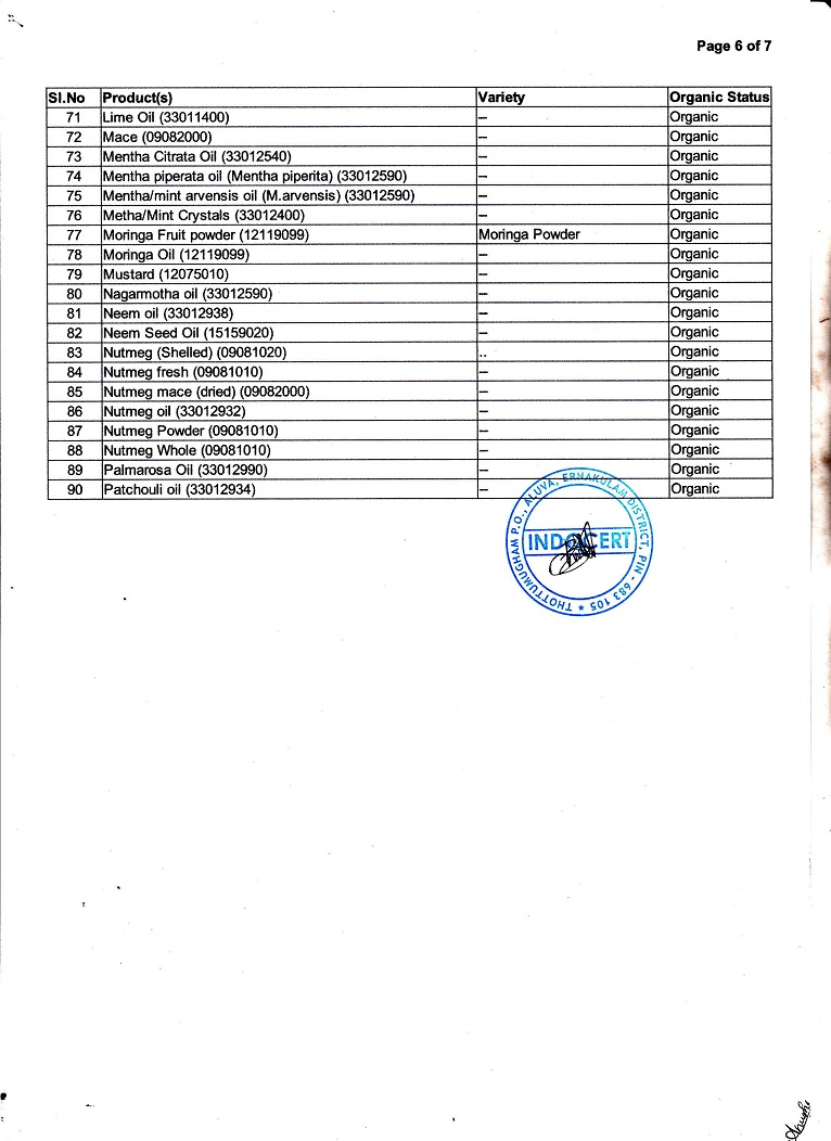 India Organic Page-6