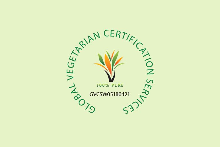 Global Vegetarian Certificate